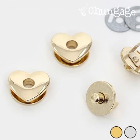 袋子关闭磁性按钮心脏♥23毫米(2种)