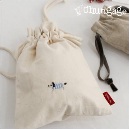 洗涤韩国布料织物)蓬松的土地(大)1/2麻[E-001]