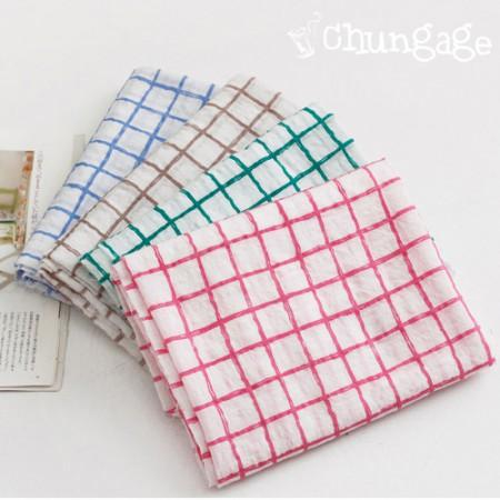 温暖Tencel纱布)检查线(4种)