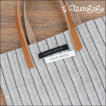 棉标签棉标签手工刻字(2种/ 5件)[KL008]
