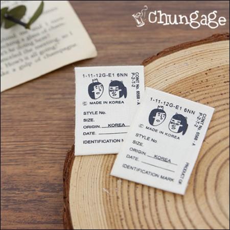 棉签瓦楞纸板标识标识标签(5个)[KL002]