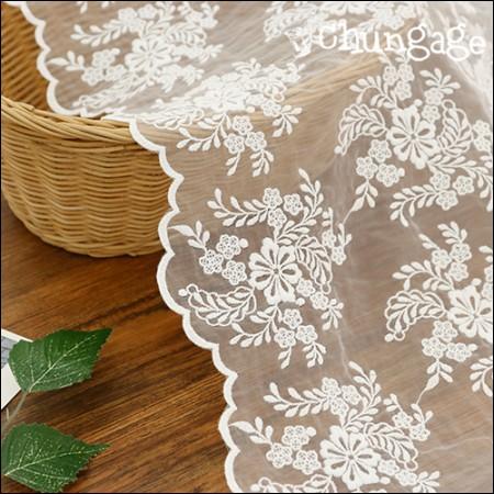 披肩面料蕾丝刺绣面料网眼蕾丝花束(2种)