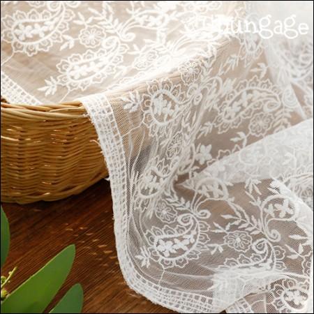 网眼织物蕾丝刺绣面料网眼蕾丝Gourmi(2种)