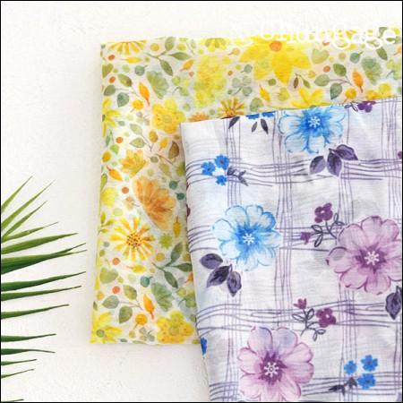 宽DTP波兰雪纺)Floris(2种)