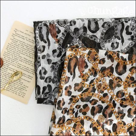 宽DTP波兰雪纺)链豹(2种)