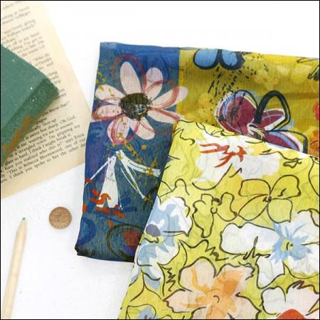 宽DTP波兰雪纺)花卉素描(2种)