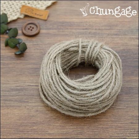 麻Kramome材料圆麻自然(20麻)3毫米