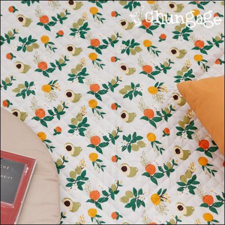 棉20水平梭织缝面料)Mandarin蓝