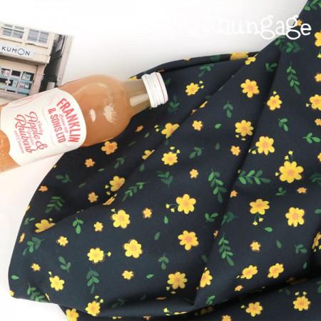高档DTP20(水平编织)黄色花