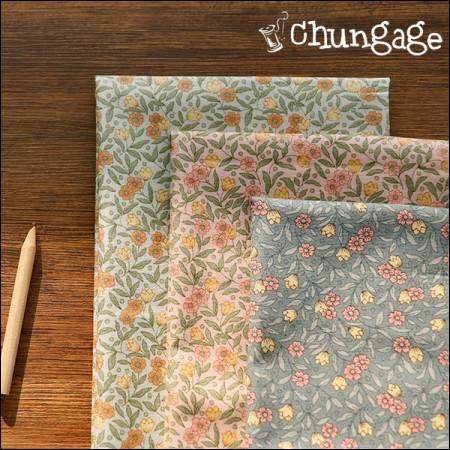 棉20水平编织)水花园(3种)