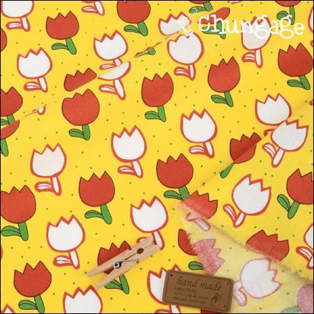 棉花20(水平编织)红色郁金香