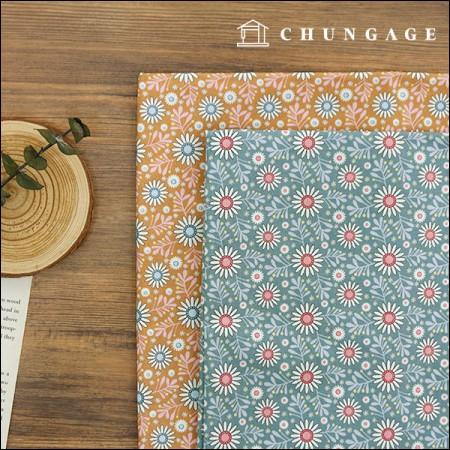 棉20水平编织)雏菊(两种)