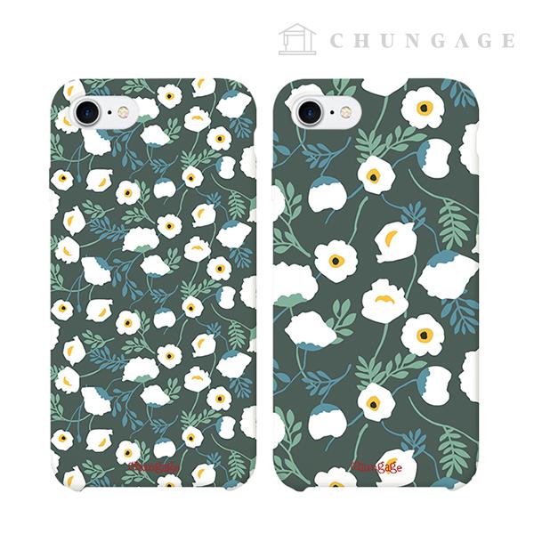 手机壳纯山茶花(2种)CA010 iPhone Galaxy所有手机壳