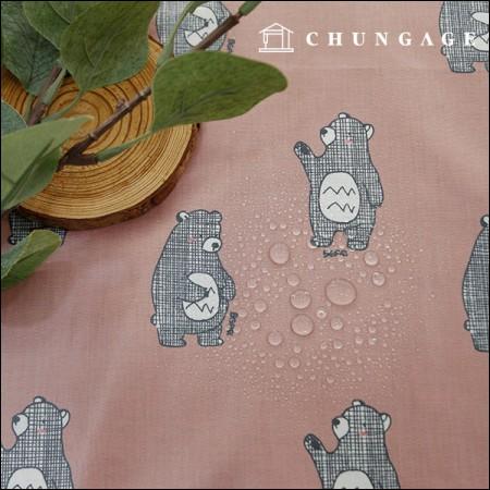 防水面料无毒TPU层压布)国际象棋熊