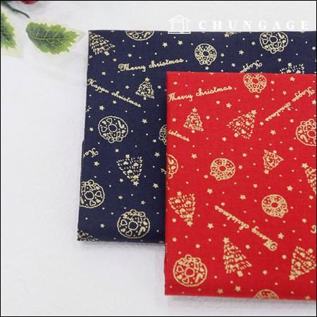 20种棉质金色圣诞节2种类型