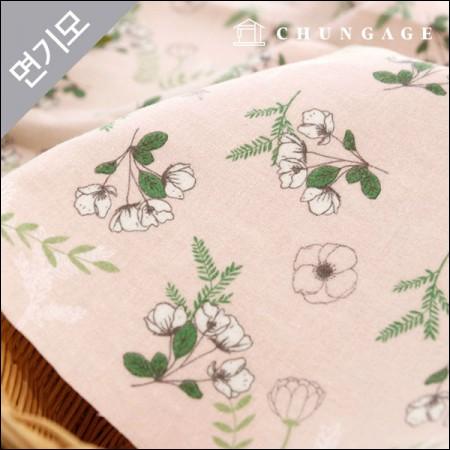 棉拉丝超细纤维织物中庭花
