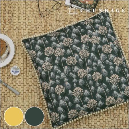 11种高档DTP亚麻丽贝卡·卡普林野花2种