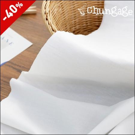 特价)可水洗纯白白色