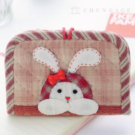 绗缝包DIY套件豹纹卡钱包[CH-613381]