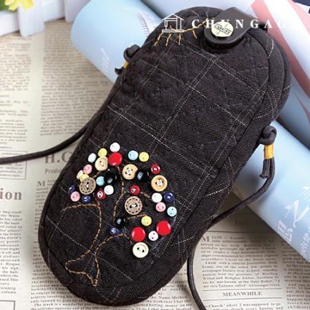绗缝包DIY套装幸福树眼镜[CH-615371]