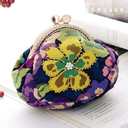 绗缝包DIY套装花卉图案零钱包[CH-615072]