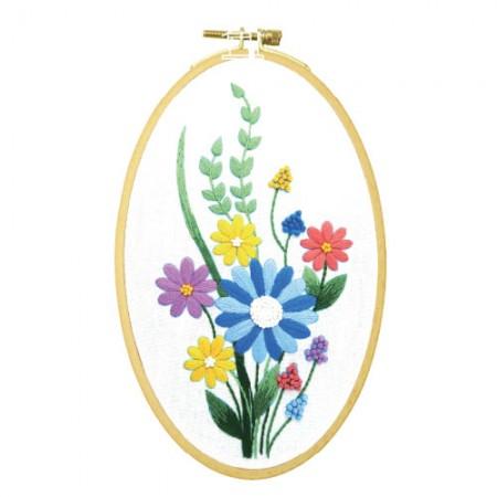 法国刺绣包装花DIY套装CH-511173