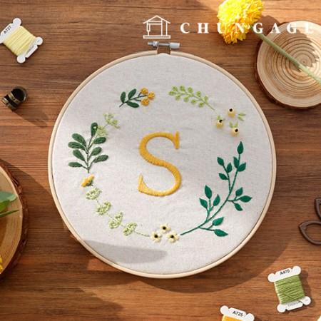 法国刺绣包装花DIY套件Freya [CH-511211]