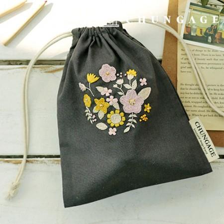 法式刺绣包花DIY套装Premula化妆包CH-560113
