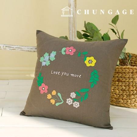 法国刺绣包装花DIY套件花香膏垫套CH-511620