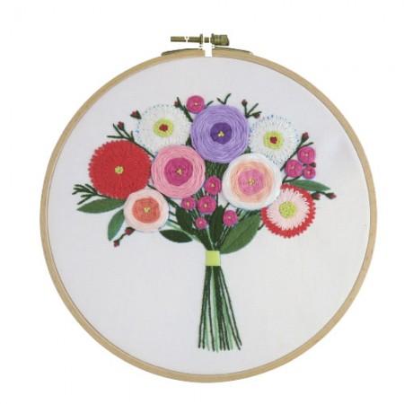 法国刺绣包装花DIY套件首次开会CH-511212