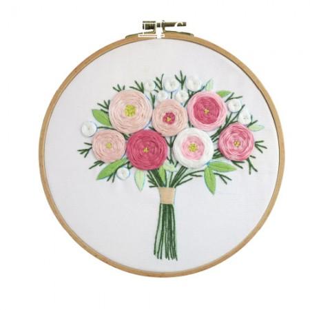 法国刺绣包装花DIY套件激动人心的CH-511213