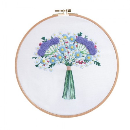 法国刺绣包装花DIY套件纯花CH-511215