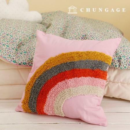 彩虹泡沫泡沫方垫(棉布包含)