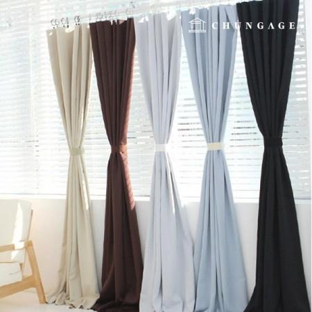 3中号黑色窗帘布显着平纹面料19布莱尔19种