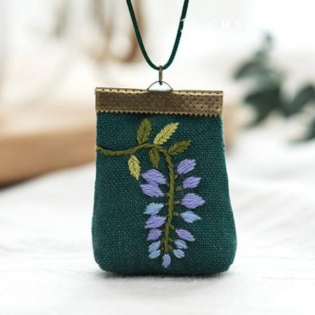 法国刺绣包花DIY工具紫藤(两品种)[CH-512506]
