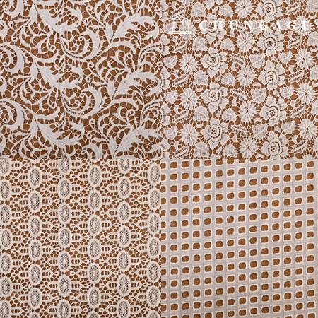9种棉质蕾丝刺绣面料[G6]