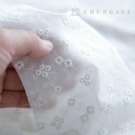 棉蕾丝刺绣面料迷你藤花袋眼