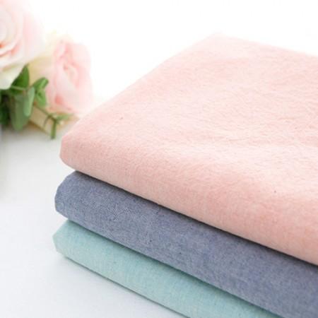 广泛的梅兰水洗渐变色棉织物素色面料棉花糖3种