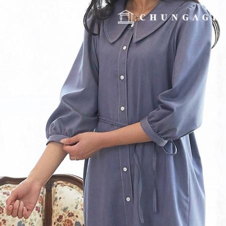 服装款式女装连衣裙图案P1371