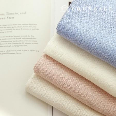 麻织物温和和竹节麻织物柔软麻4种感觉
