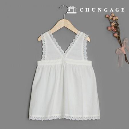 服装款式儿童分层连衣裙服装款式[P1401]