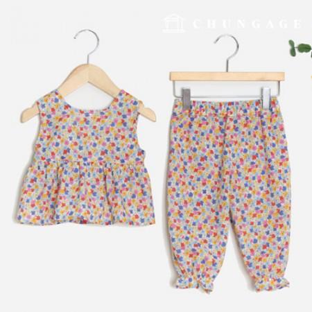 儿童上衣和下装的服装样式[P1399]