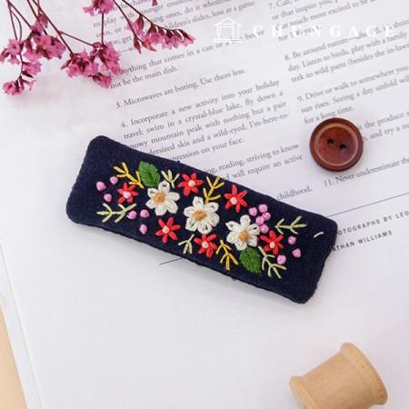 法国刺绣包装花DIY套件花框图钉CH-512567