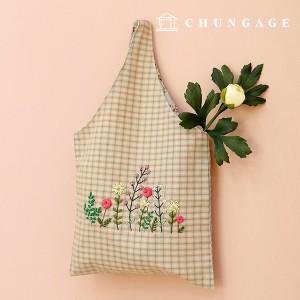 法国刺绣包装花DIY套件小花屋手腕包CH-560153您可以在家做的爱