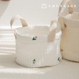 60支提供的棉线棉衣面料棉毛棉衣布料刺绣白象牙伊芙琳E-024