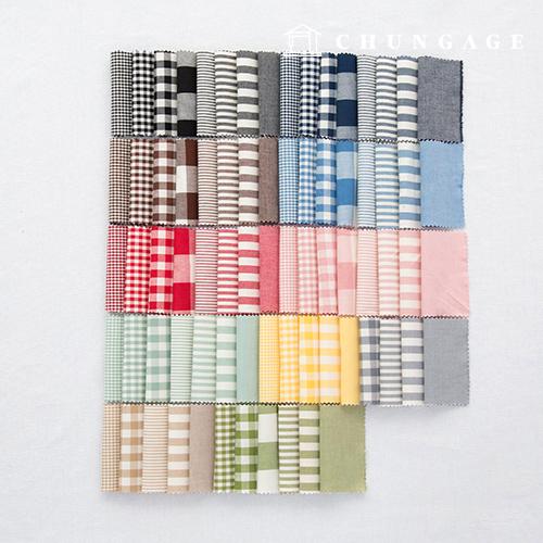 棉格子面料20针渐变色染色非素色条纹格子格子面料75种