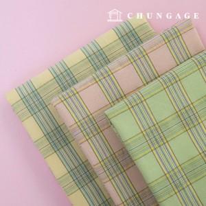 30 水色纱水洗棉织物乳白色格子 3 种类型